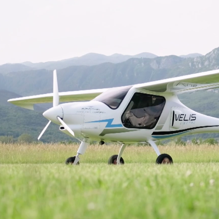 Europe S First Electric Plane Points To The Future Of Flying Cgtn