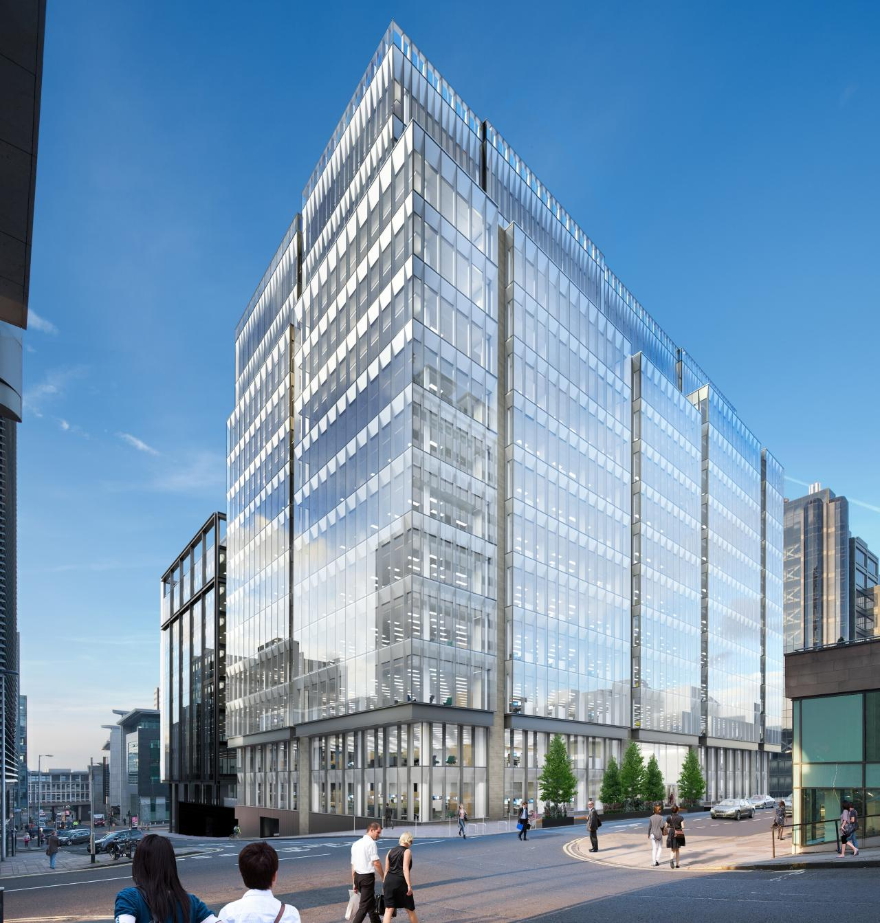 Glasgow's Tallest Office Building Gets COVID-19 'touch