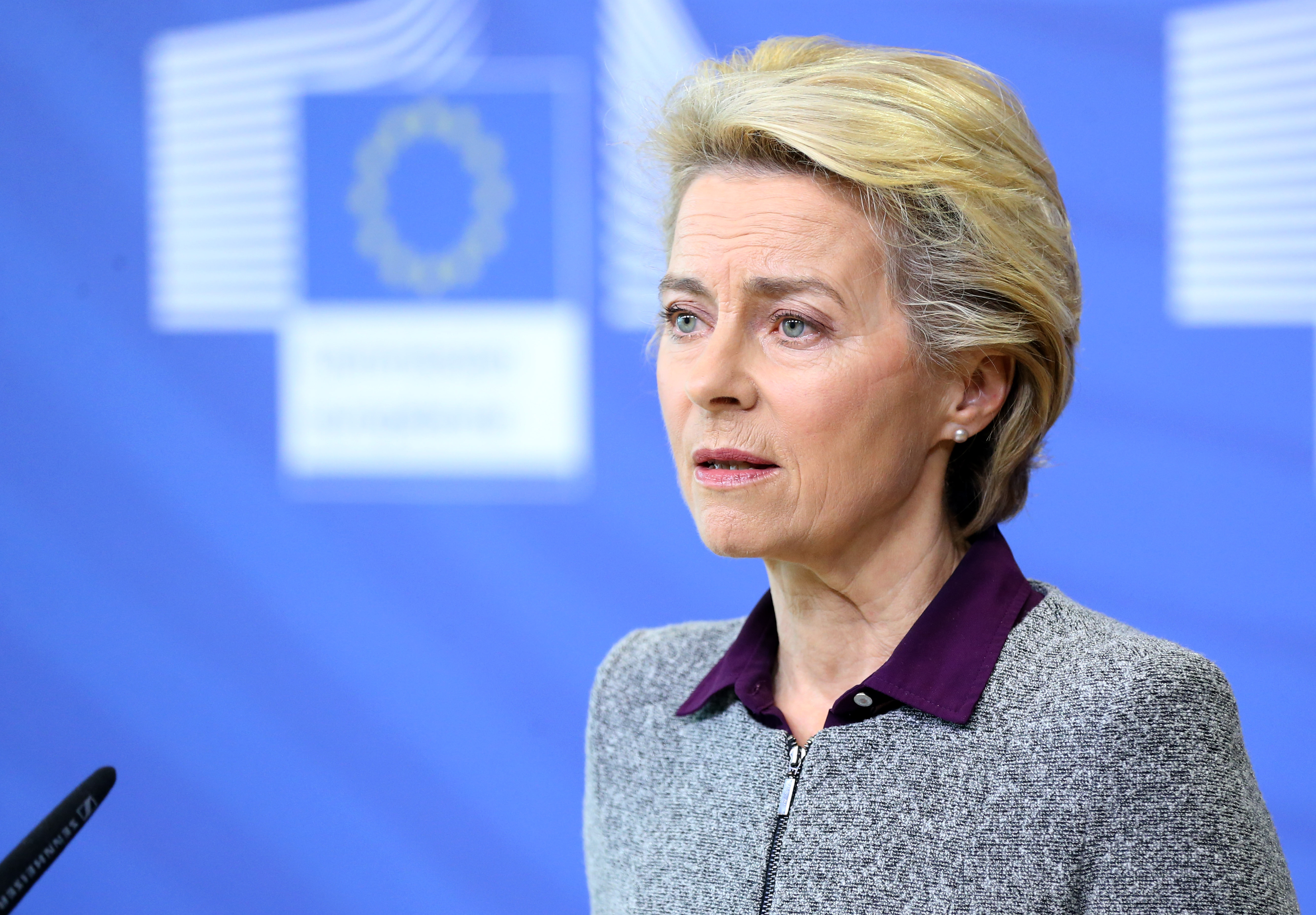 EU chief leaves summit to go into quarantine - My Vue News