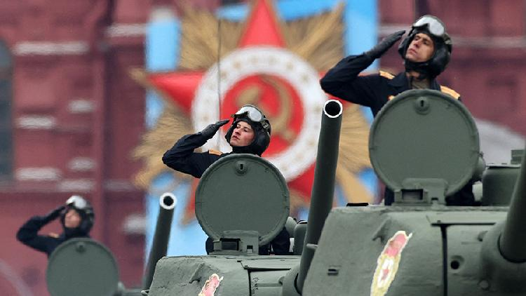 Russia celebrates Victory Day with lavish military parade in Moscow