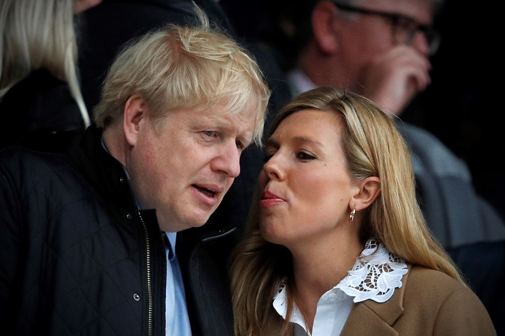 Boris Johnson Married Carrie Symonds